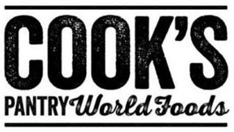 COOK'S PANTRY WORLD FOODS