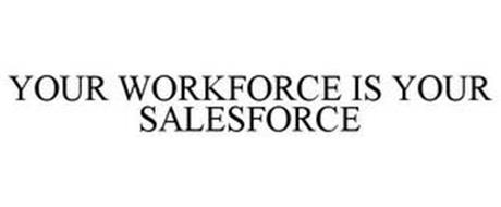 YOUR WORKFORCE IS YOUR SALESFORCE