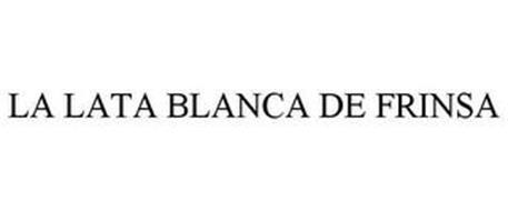 LA LATA BLANCA DE FRINSA