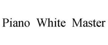 PIANO WHITE MASTER