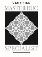CERTIFIED MASTER RUG SPECIALIST