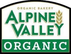ALPINE VALLEY ORGANIC ORGANIC BAKERY