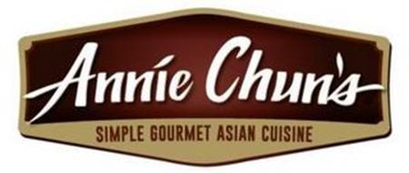 ANNIE CHUN'S SIMPLE GOURMET ASIAN CUISINE