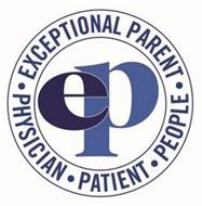 · EXCEPTIONAL PARENT · PEOPLE PHYSICIAN· PATIENT EP