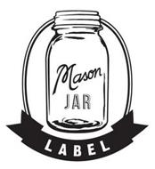 MASON JAR LABEL