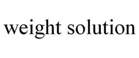 WEIGHT SOLUTION