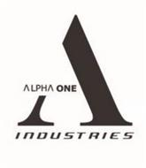 A ALPHA ONE INDUSTRIES