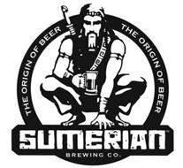 SUMERIAN BREWING CO. THE ORIGIN OF BEER