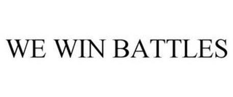 WE WIN BATTLES
