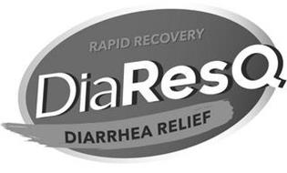 RAPID RECOVERY DIARESQ DIARRHEA RELIEF