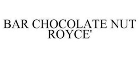 BAR CHOCOLATE NUT ROYCE'