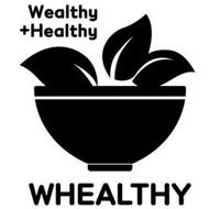 WEALTHY + HEALTHY WHEALTHY