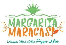 MARGARITA MARACAS MARGARITA BLEND BY BLUE AGAVE WINE