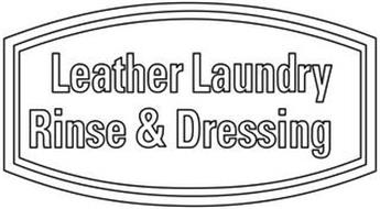 LEATHER LAUNDRY RINSE & DRESSING