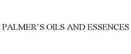 PALMER'S OILS AND ESSENCES