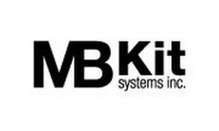 MB KIT SYSTEMS INC.