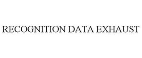 RECOGNITION DATA EXHAUST