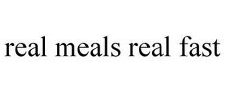 REAL MEALS REAL FAST