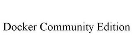 DOCKER COMMUNITY EDITION