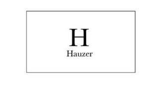 H HAUZER