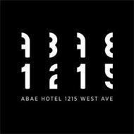 ABAE 1215 ABAE HOTEL 1215 WEST AVE