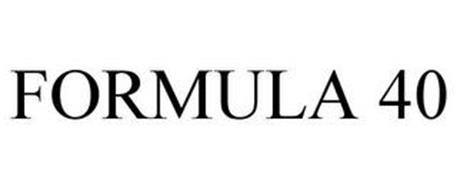 FORMULA 40