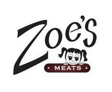 ZOE'S · MEATS ·