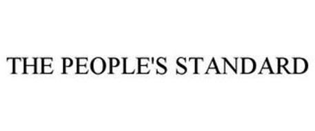 THE PEOPLE'S STANDARD