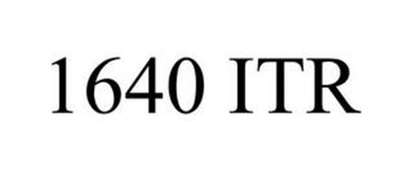 1640 ITR