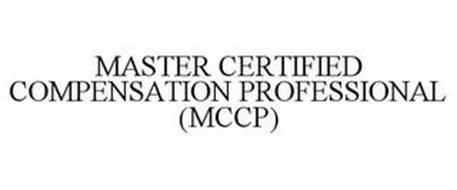 MASTER CERTIFIED COMPENSATION PROFESSIONAL (MCCP)