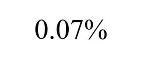 0.07%