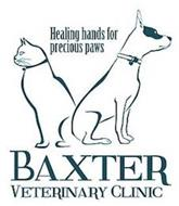 BAXTER VETERINARY CLINIC HEALING HANDS FOR PRECIOUS PAWS