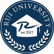 RUI UNIVERSITY R EST 2017