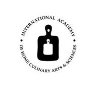· INTERNATIONAL ACADEMY OF HOME CULINARY ARTS & SCIENCES ·