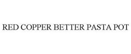 RED COPPER BETTER PASTA POT