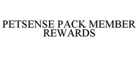 PETSENSE PACK MEMBER REWARDS