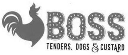 BOSS TENDERS, DOGS & CUSTARD