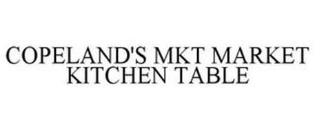 COPELAND'S MKT MARKET KITCHEN TABLE