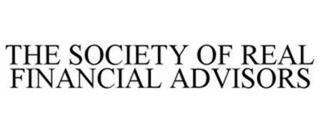THE SOCIETY OF REAL FINANCIAL ADVISORS