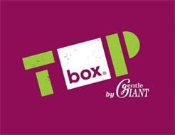TOP BOX BY GENTLE GIANT