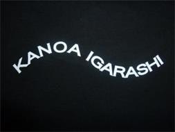 KANOA IGARASHI