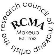 RCMA MAKEUP EST. 1963 - THE RESEARCH COUNCIL OF MAKEUP ARTISTS