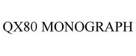 QX80 MONOGRAPH