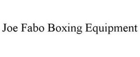 JOE FABO BOXING EQUIPMENT