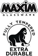 MAXIM GLASSWARE FULLY TEMPERED EXTRA DURABLE