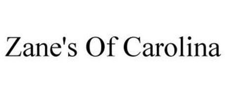 ZANE'S OF CAROLINA