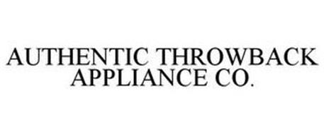 AUTHENTIC THROWBACK APPLIANCE CO.