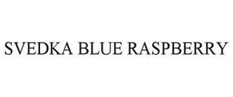 SVEDKA BLUE RASPBERRY