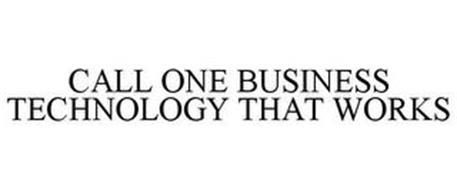 CALL ONE BUSINESS TECHNOLOGY THAT WORKS