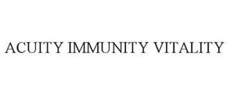 ACUITY IMMUNITY VITALITY